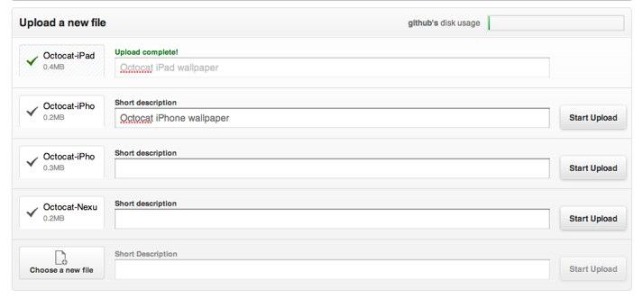 New uploader & downloads screen - The GitHub Blog