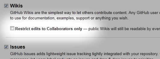 wiki permissions