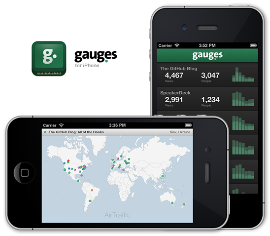 Gaug.es for iPhone