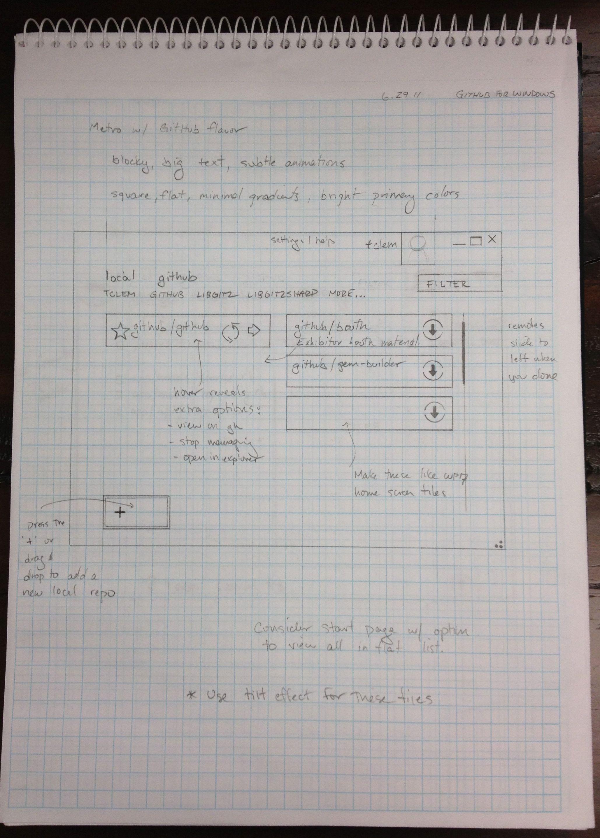 Designing GitHub for Windows - The GitHub Blog