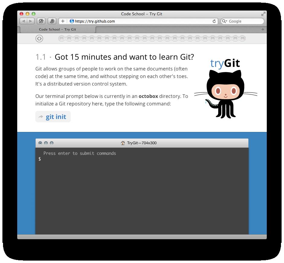Try Git Site