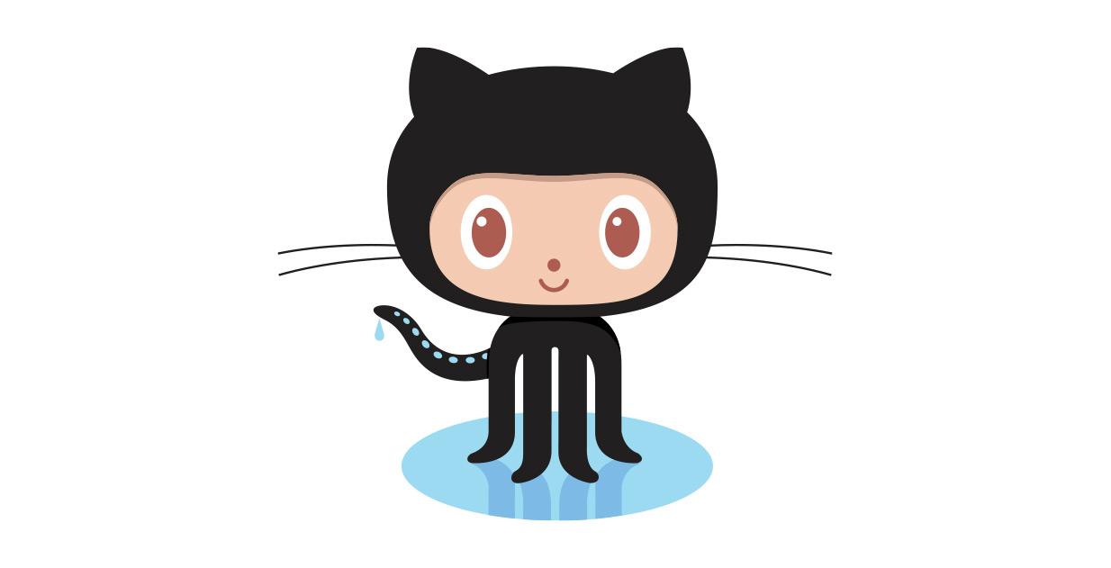 New GitHub Logo - The GitHub Blog