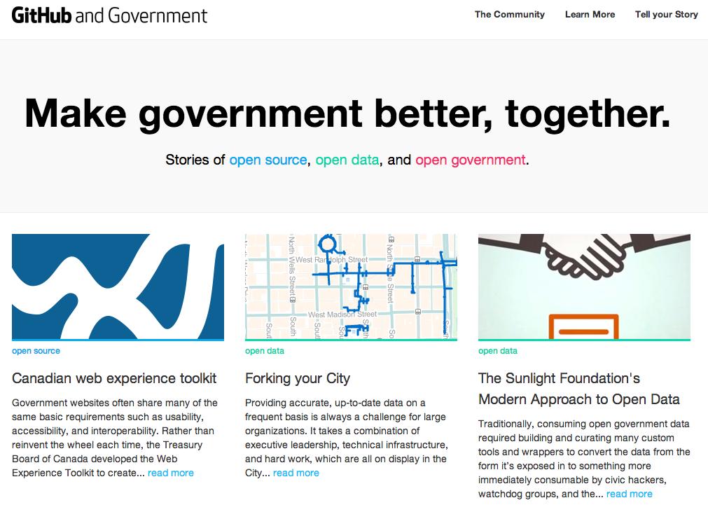 government.github.com