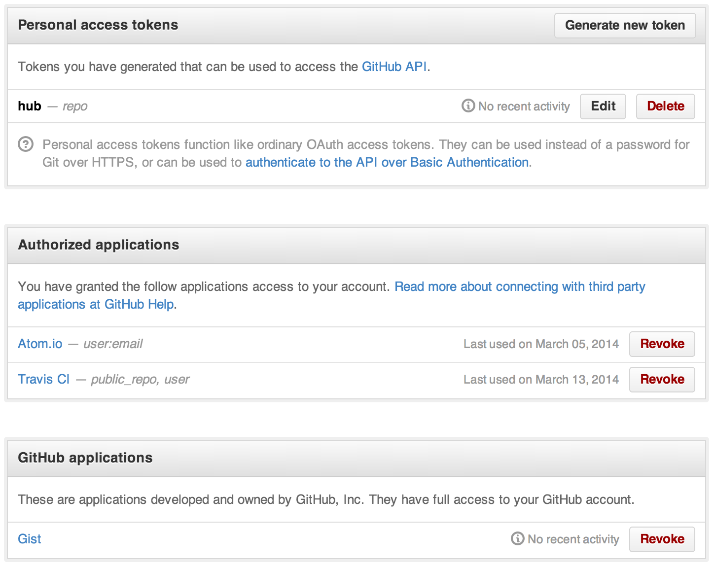 OAuth applications overview