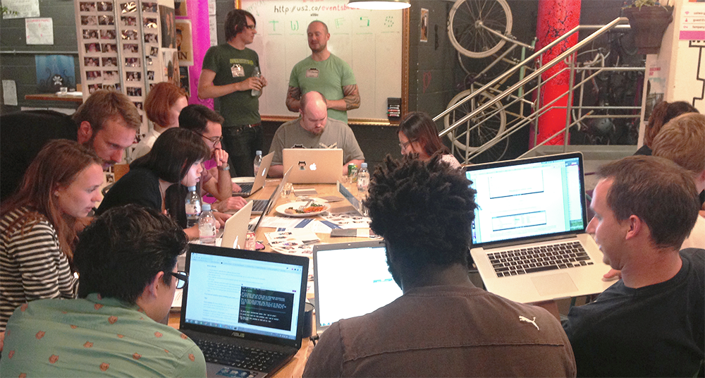 Patchwork Night, NYC Edition - The GitHub Blog