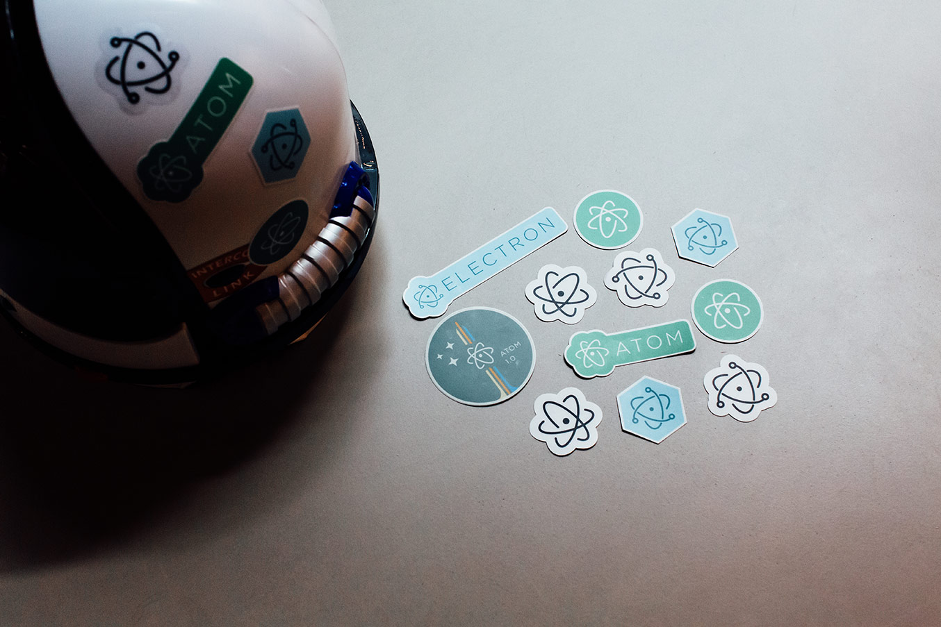 atom-and-electron-stickers