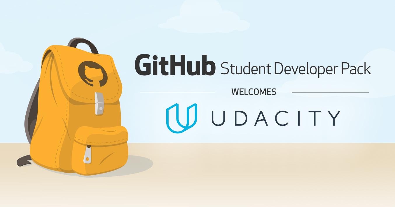 Student Developer Pack + Udacity