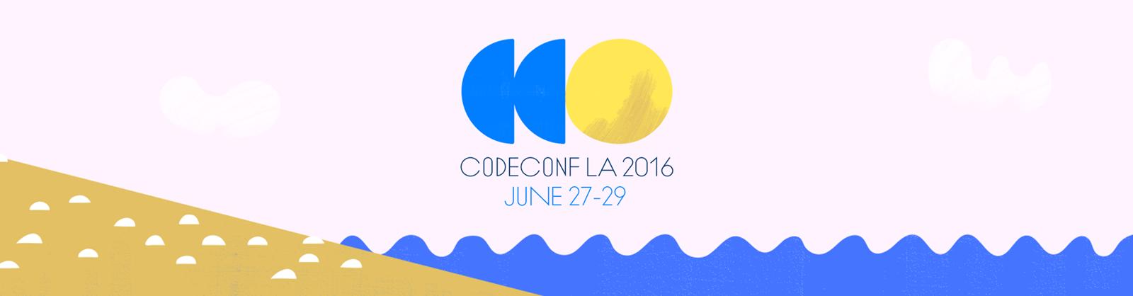 CodeConf LA is happening next month