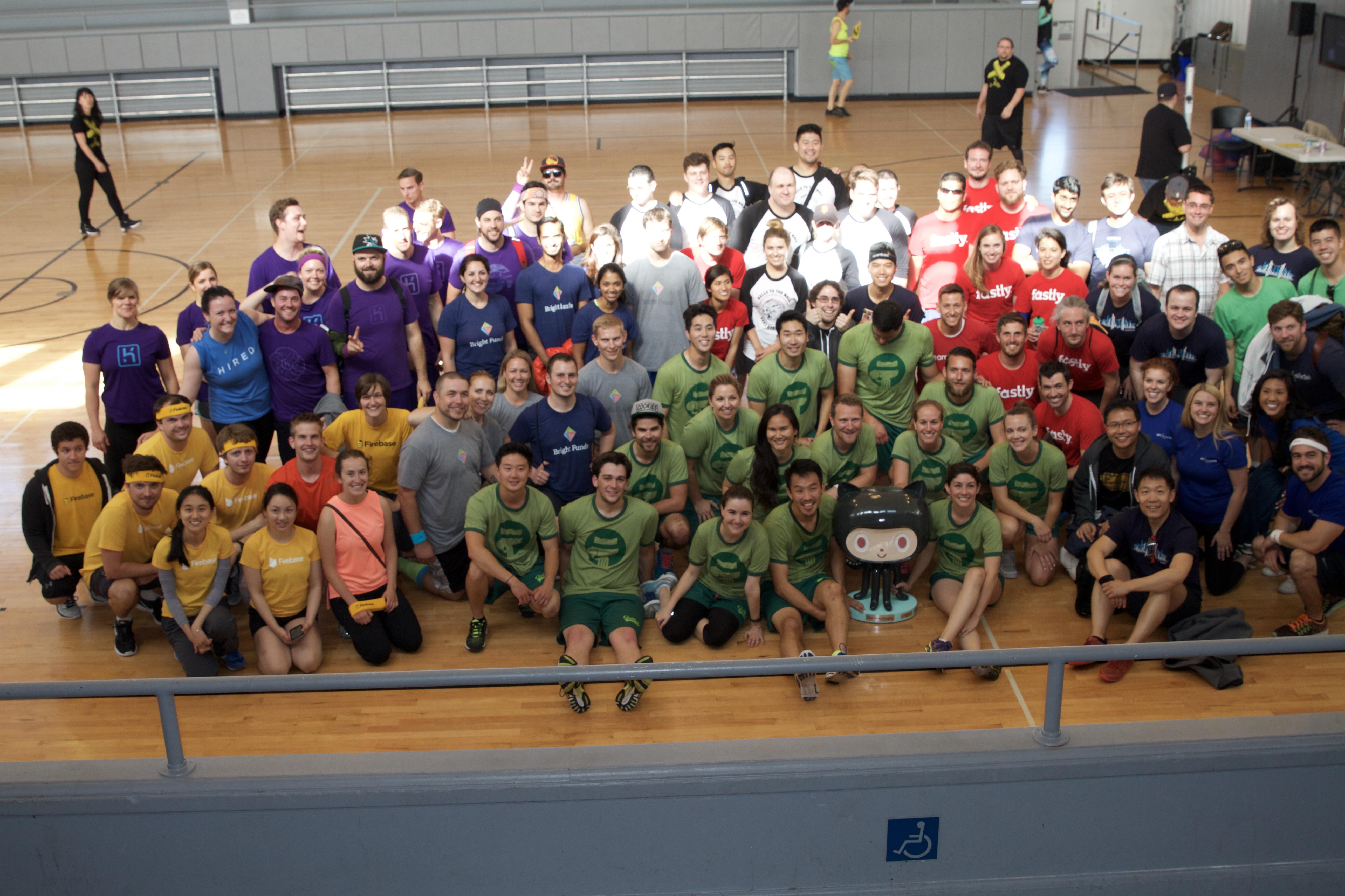 2016 dodgeball participants
