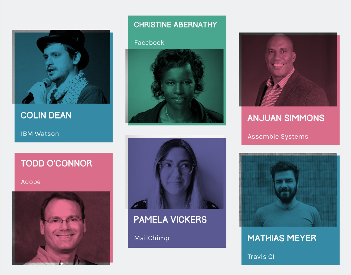 Speakers at Universe 2016