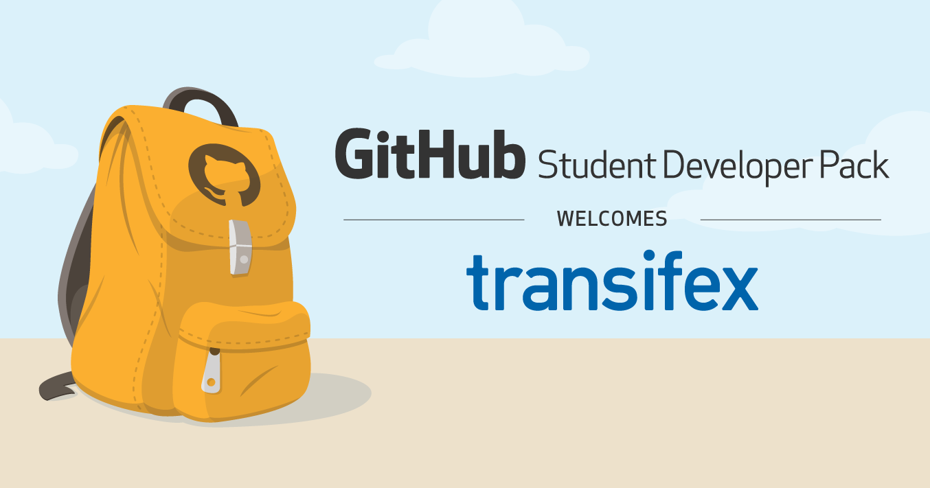 Transifex joins the Student Developer Pack