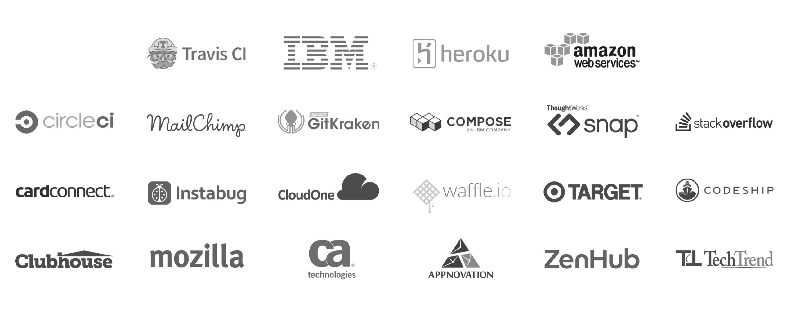 Sponsors of GitHub Universe