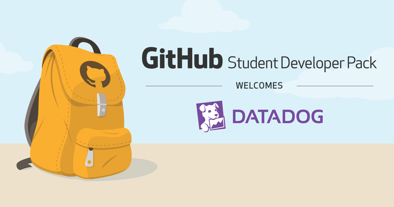 Datadog joins the Student Developer Pack