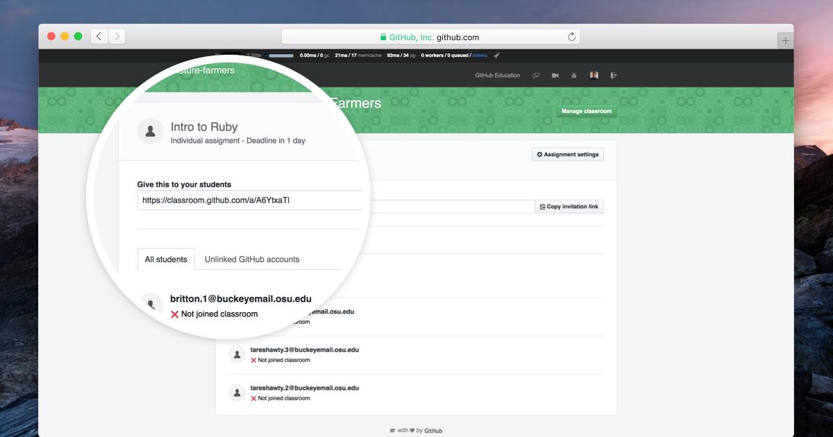 Updates to GitHub Classroom
