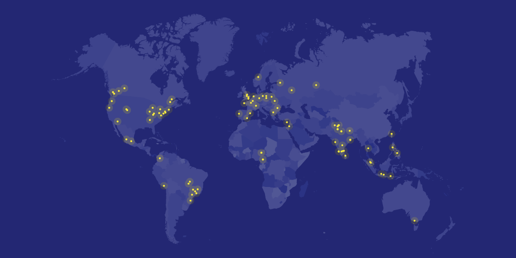 Hacktoberfest events all over the world