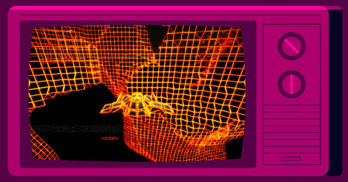Screenshot of Neon Skylines game