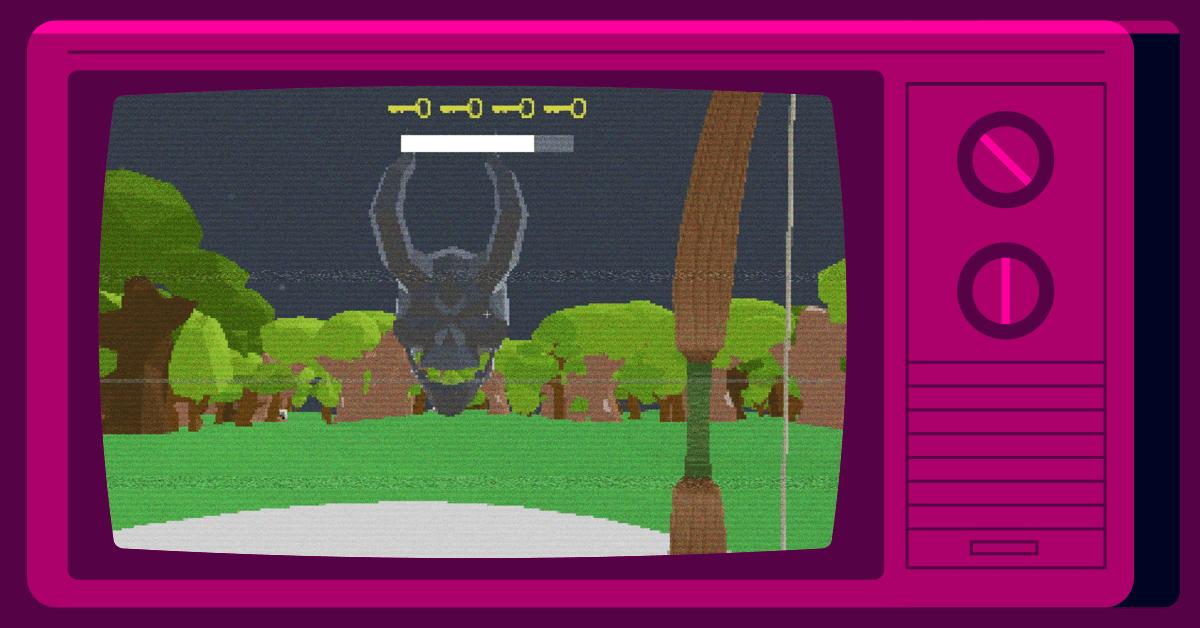 Screenshot of Dark Forest game