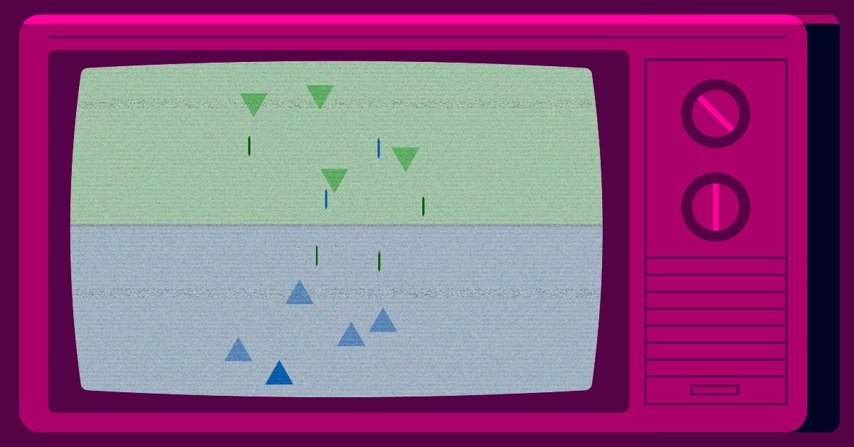 Screenshot of Vengeance game