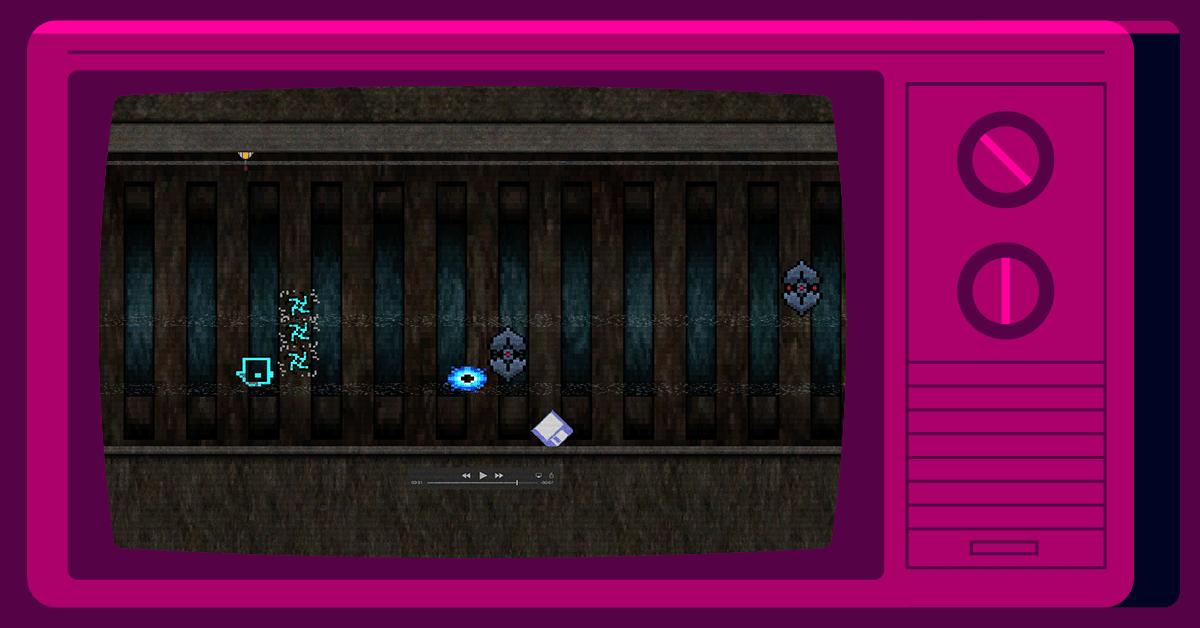 Screenshot of Glitch game