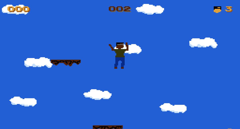 Falling screenshot