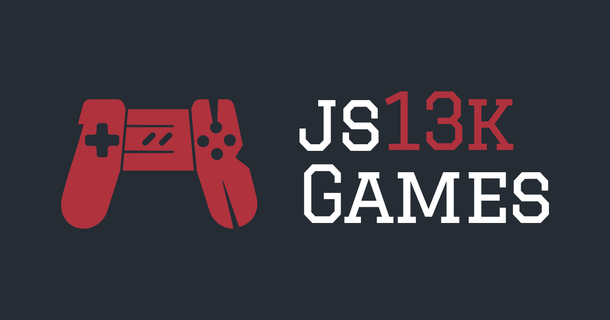 Create A 13 KB JavaScript Game In 30 Days With Js13kGames