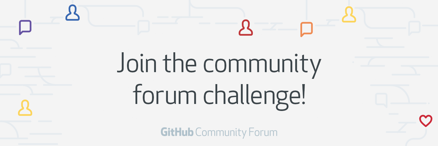 Join the Community Forum Challenge