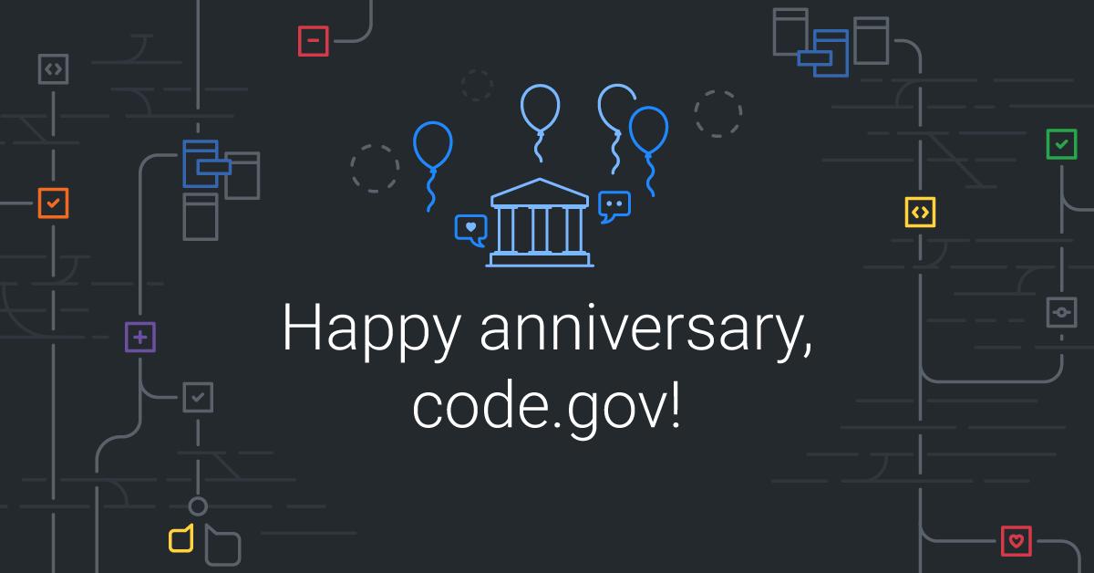 Happy birthday, Code.gov!