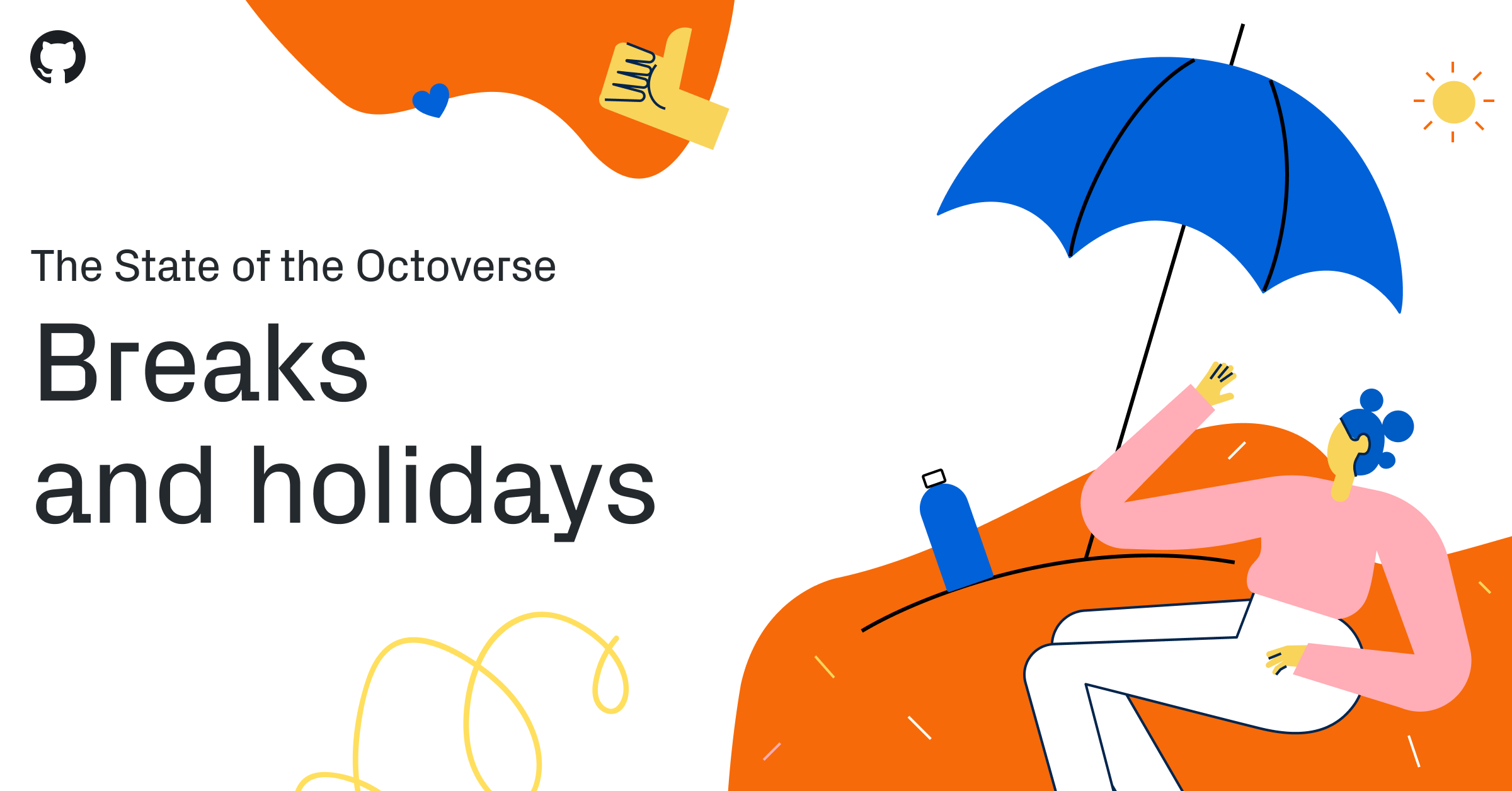 The State of the Octoverse: breaks and holidays - The GitHub Blog