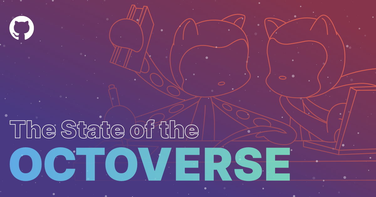 The State of the Octoverse - GitHub's annual data report