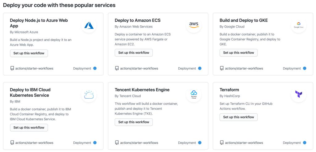 Screenshot showing selection of 'Deploy to IBM Cloud Kubernetes Service'