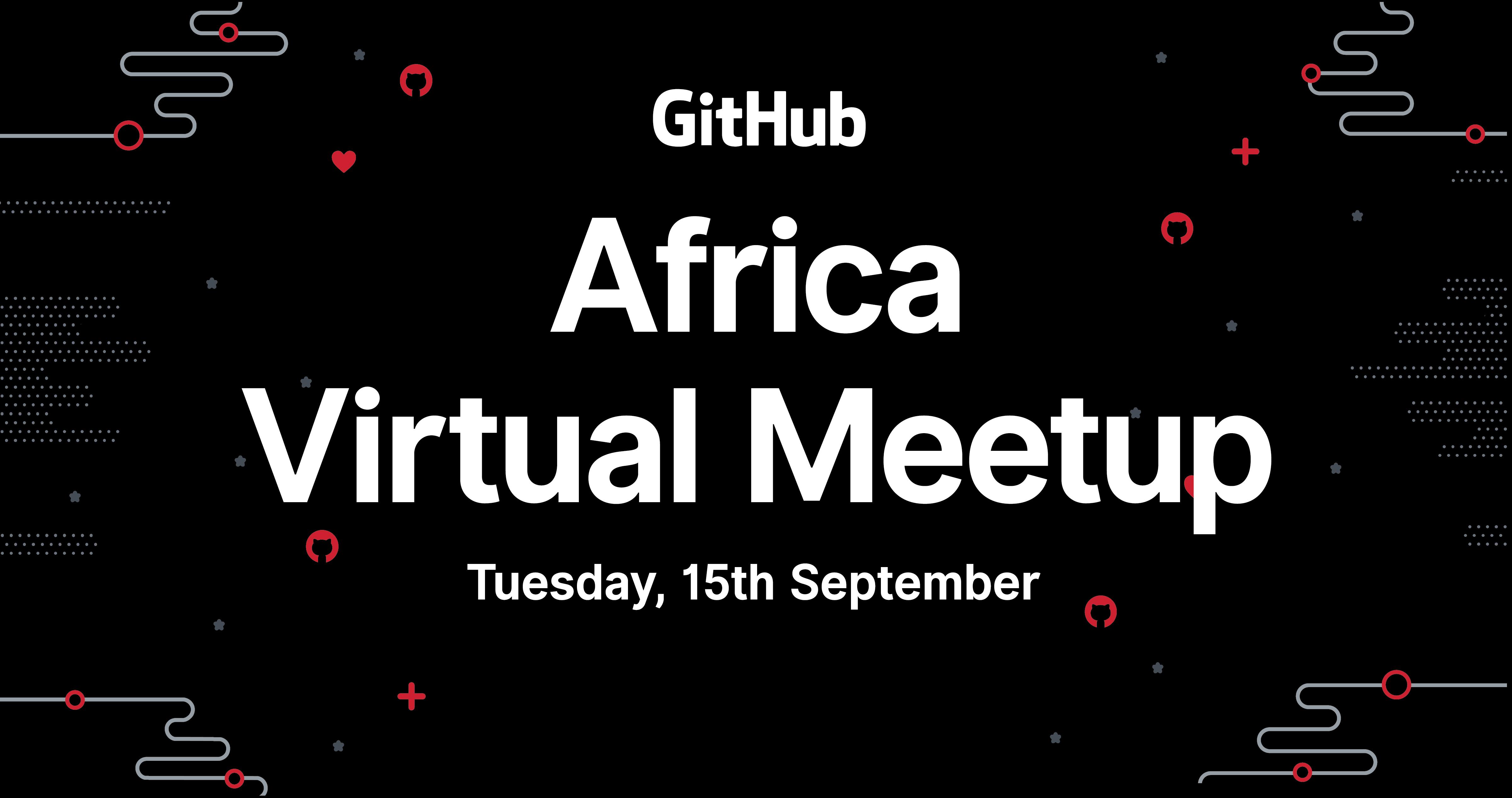 GitHub Africa Virtual Meetup