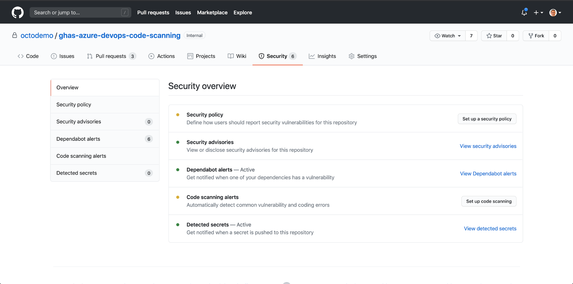 Code Scanning a GitHub Repository using GitHub Advanced Security within an Azure DevOps Pipeline - The GitHub Blog