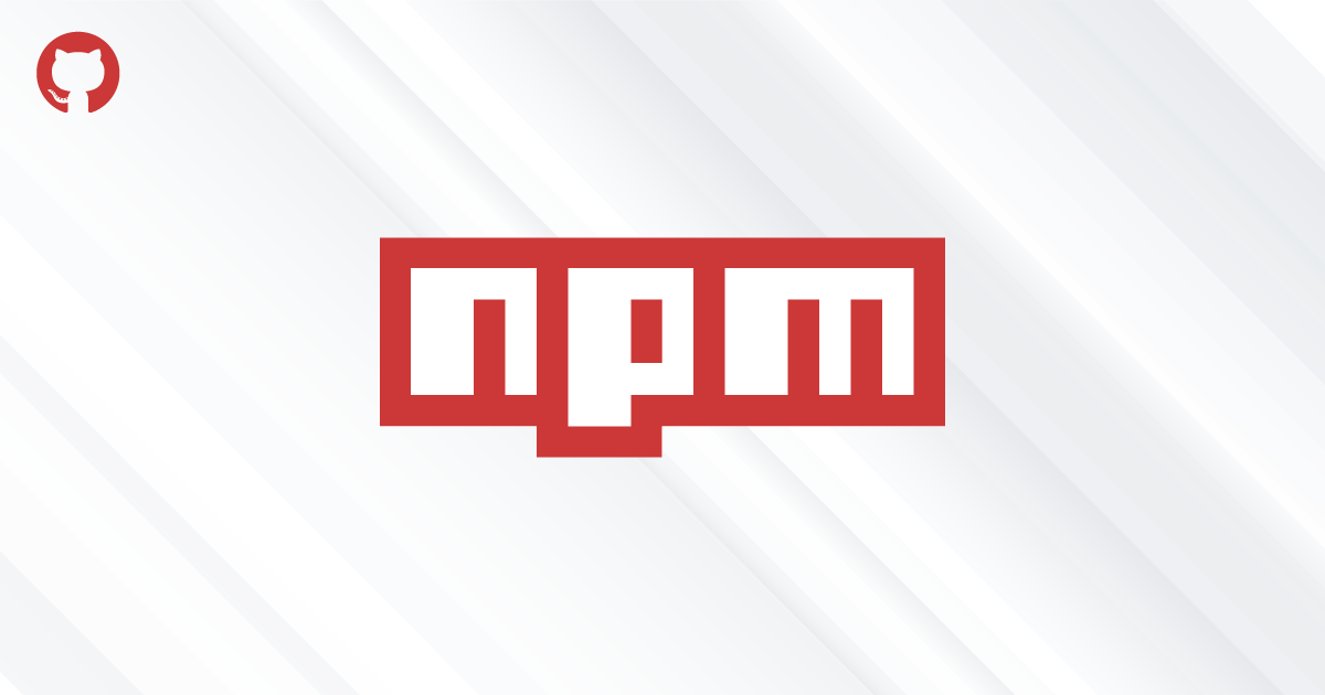 npm from Github