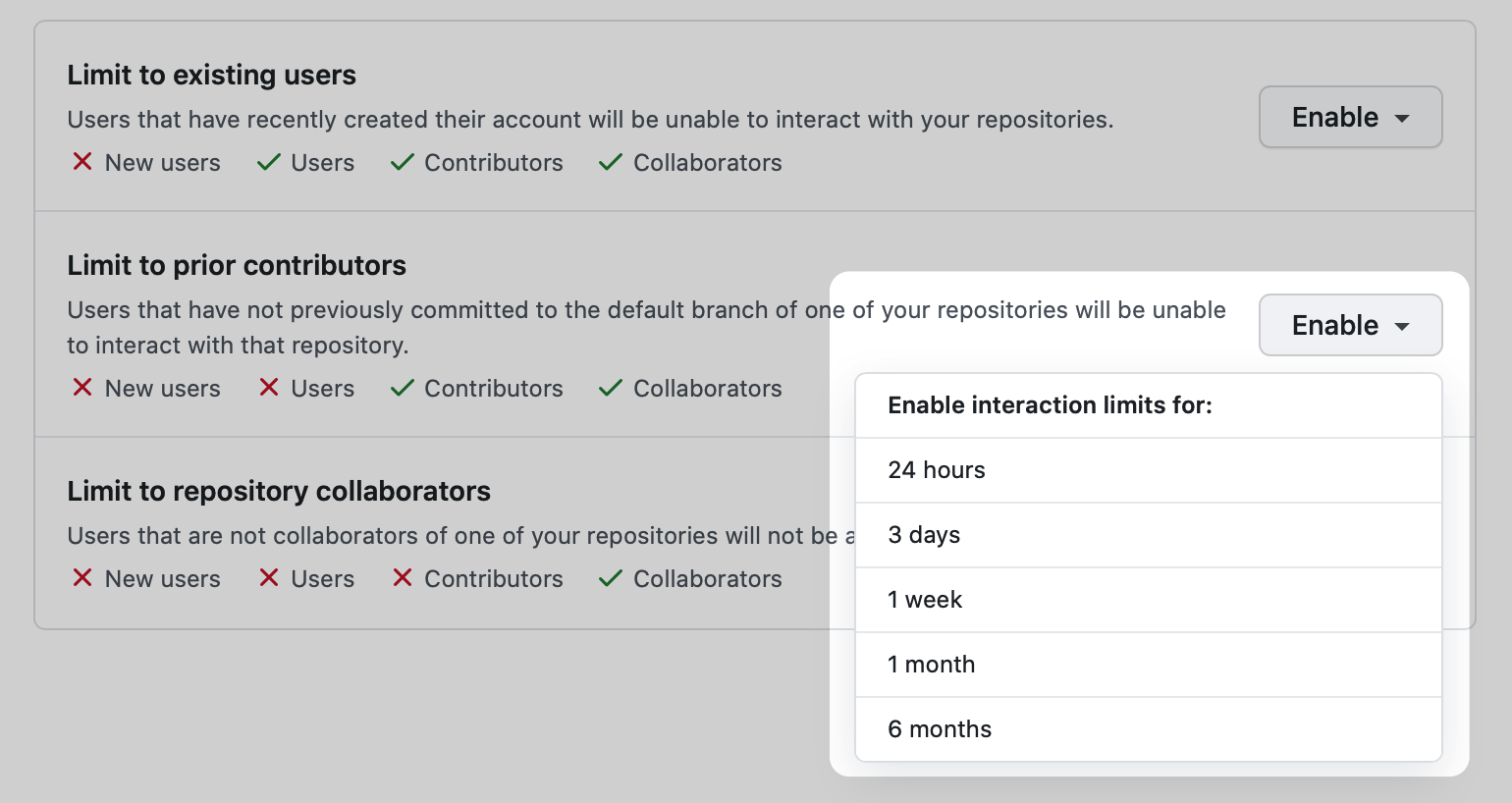 Powerful updates to temporary interaction limits - The GitHub Blog