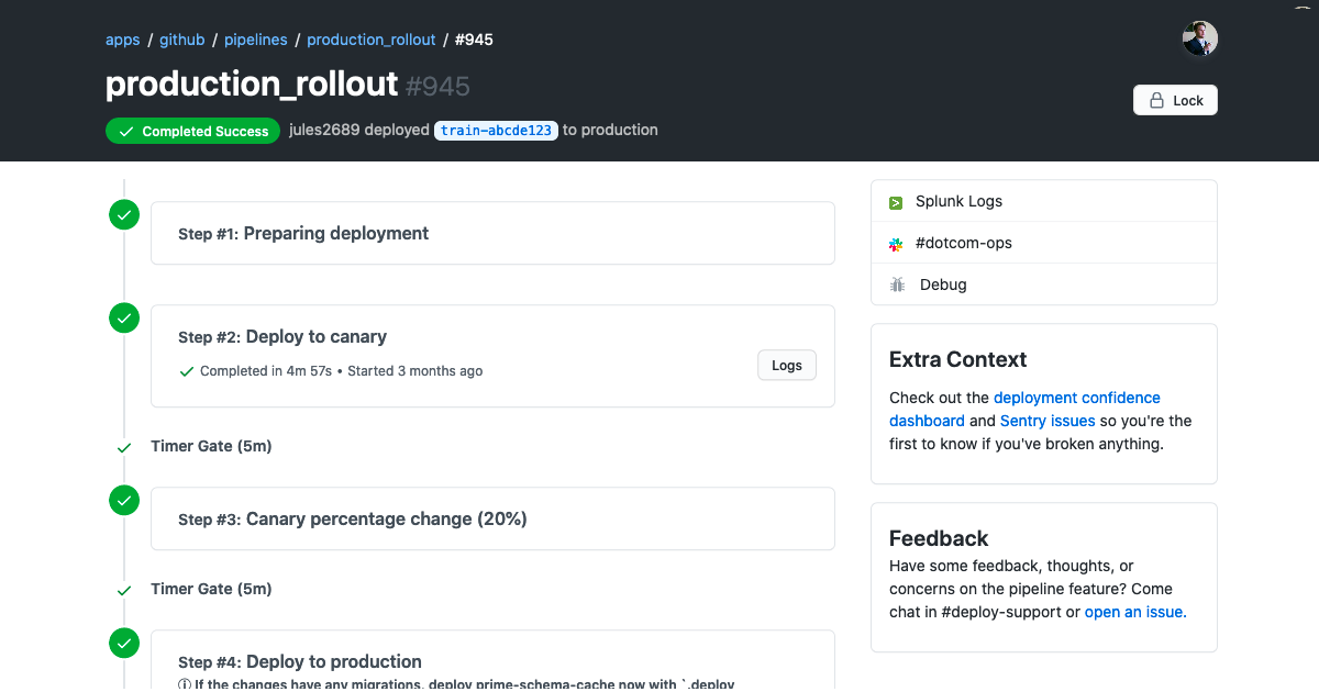 Improving how we deploy GitHub