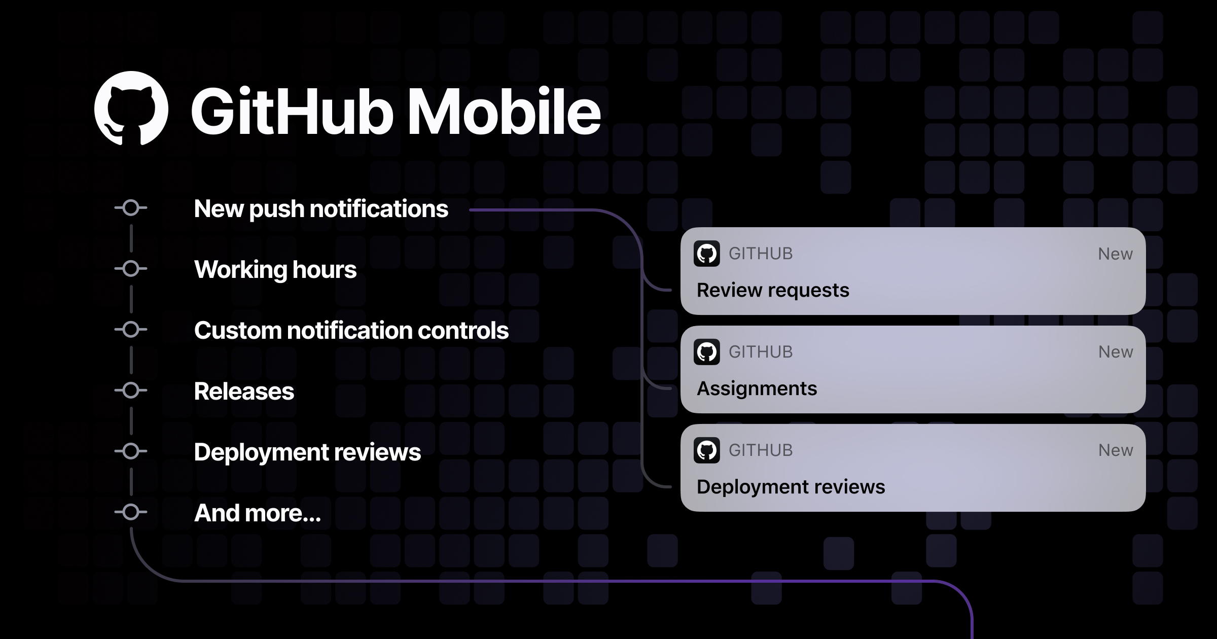 Introducing new push notifications, scheduling, releases and more on GitHub Mobile - The GitHub Blog