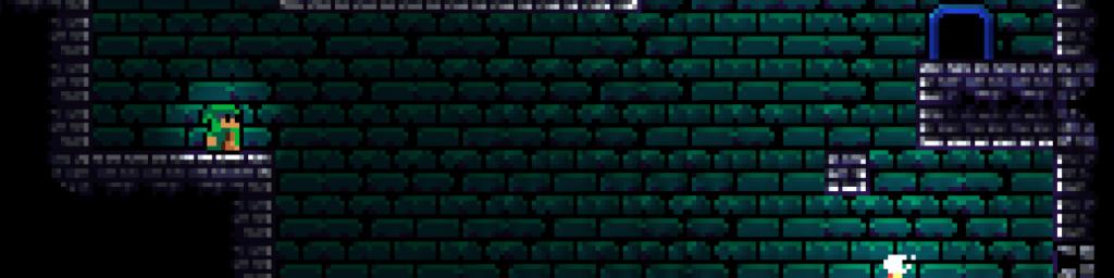 """Screenshot ofLD48 entry """"Deeper and deeper"""""""
