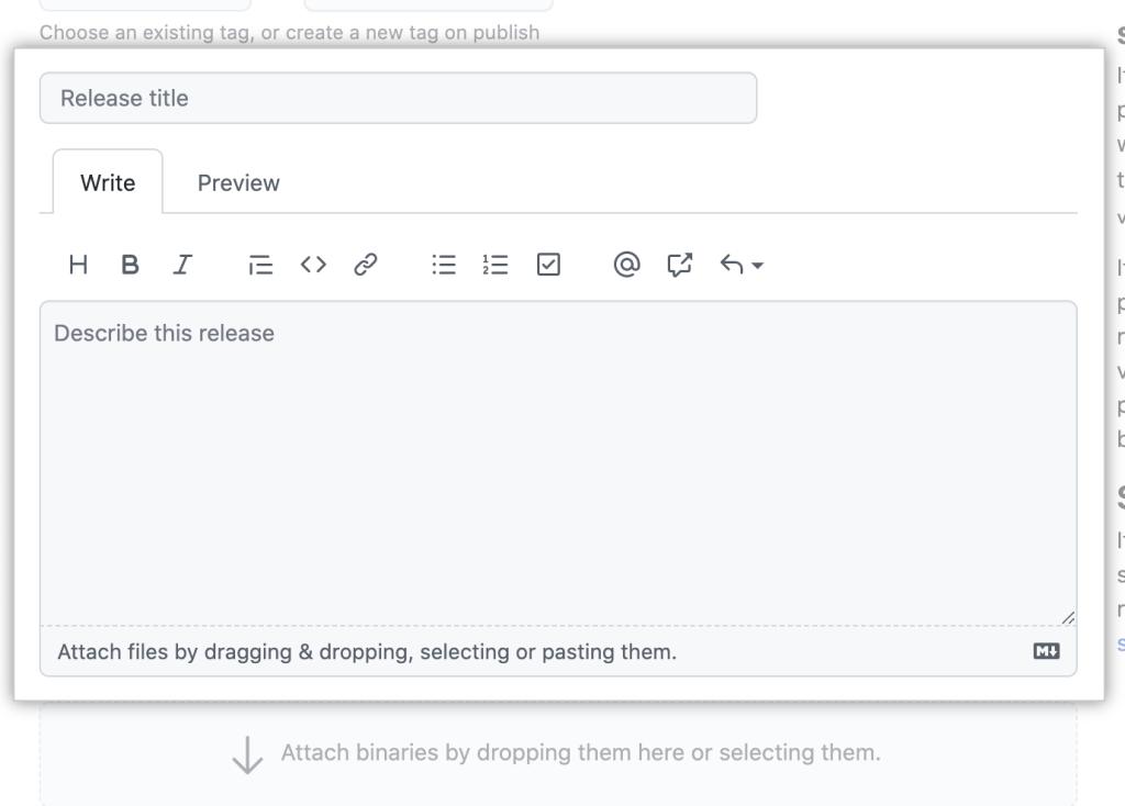 Screenshot of text editing toolbar