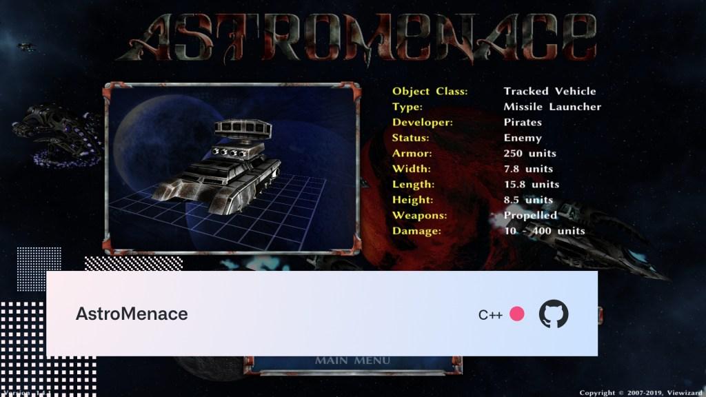 AstroMenace screenshot